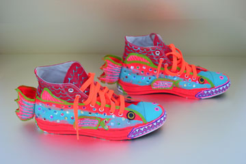 Check out these enchanted shoes. Can you make your own?